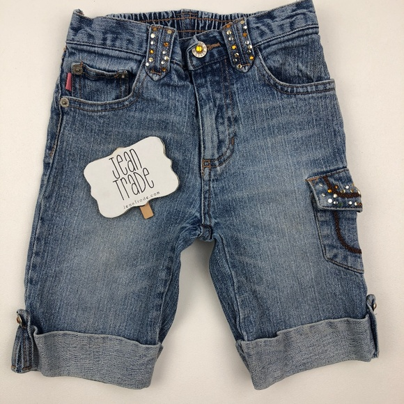 BONGO Other - Little Girls Bongo Jean Shorts